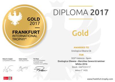 Diploma Gewurztraminer 2016